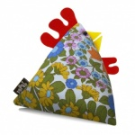 Barbara Vintage Fabric Chicken Doorstop